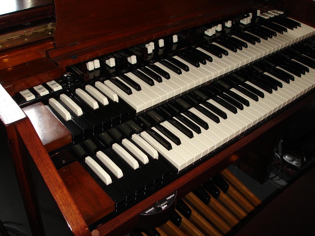 L'orgue Hammond à roues phoniques avec Thierry Smets